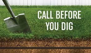 Planning an outside project? Call 811 before you dig!