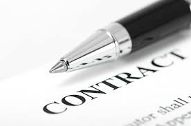 Use written contracts with contractors