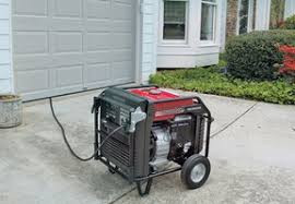 Use generators carefully, for safety's sake and your own