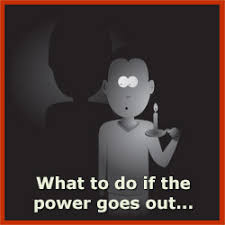 What should I do when power goes out?