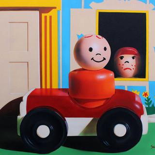 Self Quarantine is a Bummer Fred Schollmeyer Airbrush, 11x14  $198