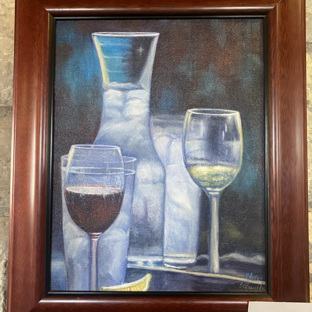 Winery Memory by Cheryl Schweitzer