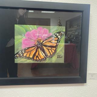 Monarch Butterfly by Faye Zumwalt
