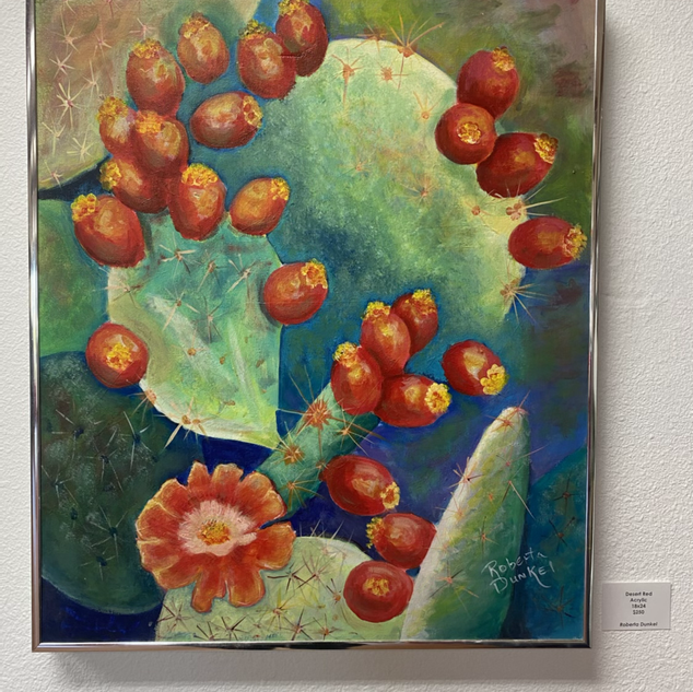 Desert Red by Roberta Dunkel