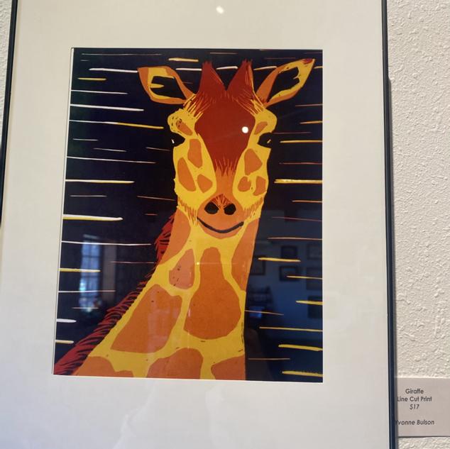 Giraffe by Yvonne Bulson