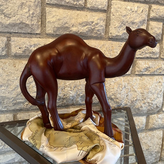 Camel Relique Dorcis Wooden Sculpture
