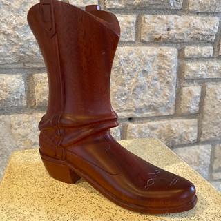 Boot Relique Dorcis Wood Sculpture
