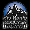Logo chamonix snowboard school