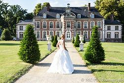 Photographe mariage château mariée