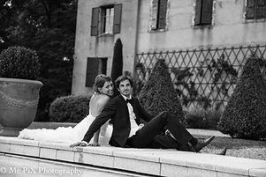 Photographer wedding black and white