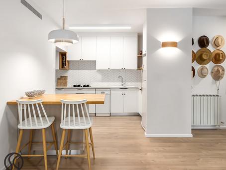 דירה ברוח סקנדינבית עם חיבור מדוייק בין המודרני והכפרי