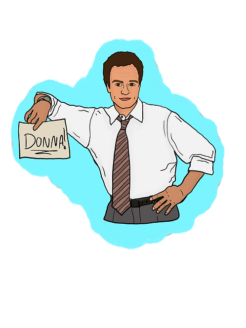THE WEST WING | Hand-drawn Character stickers