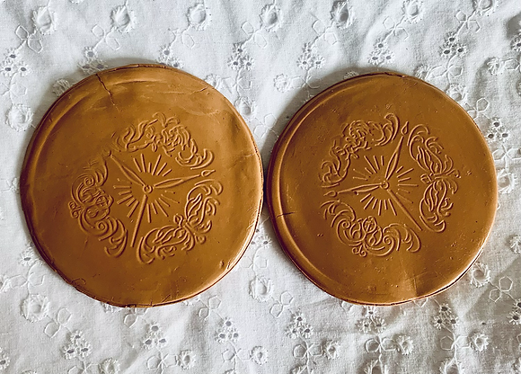 Terracotta Clay Coasters