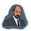 Thumbnail: THE WEST WING | Hand-drawn Character stickers