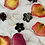 Thumbnail: Black Daisy | Gold Leaf | Resin Coated