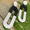 Thumbnail: Black and White chain Dangles