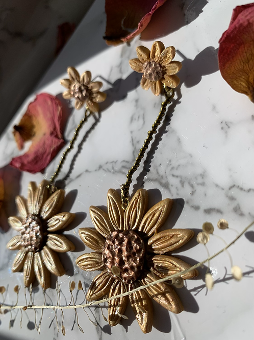 DOUBLE SUNFLOWER | made to order