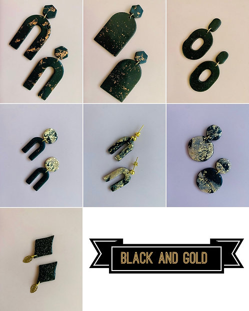 BLACK & GOLD | Marble collection - Multiple Styles