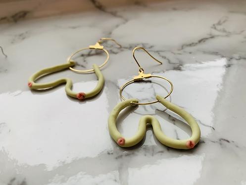 BOOBIES Dangle Earrings
