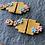 Thumbnail: LULU   Aztec Dangle Earring