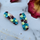 Thumbnail: Floral Double Dangle Stud