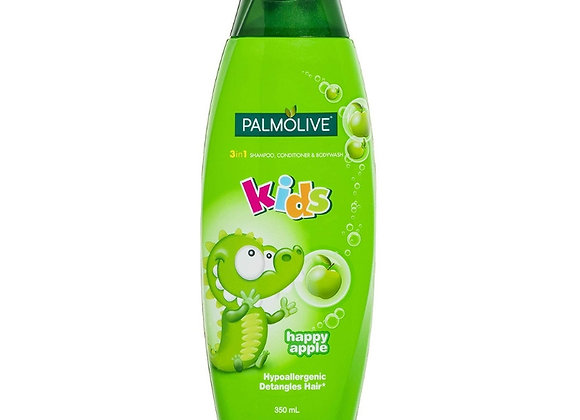 Palmolive Kids 3 in1 Shampoo, Conditioner and Body Wash- Happy Apple