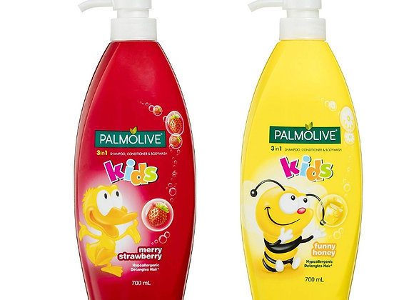 Palmolive Kids 3 in 1 Shampoo Conditioner and Body Wash