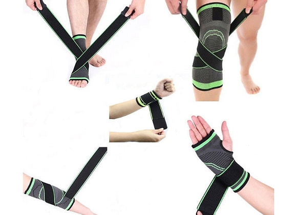 Adjustable Elbow, Knee, Wrist and Ankle Support