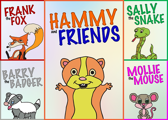 Hammy and Friends Poster