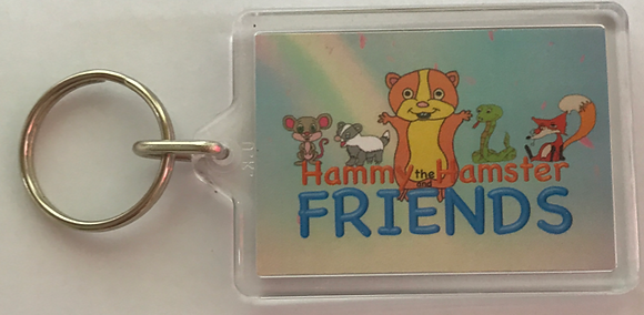 Hammy the Hamster Keyring (Old Stock)