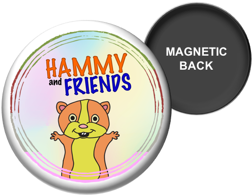 Hammy and Friends Magnet (Small)