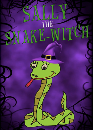 Sally the Snake-Witch Poster