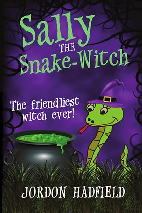 Sally the Snake-Witch Book