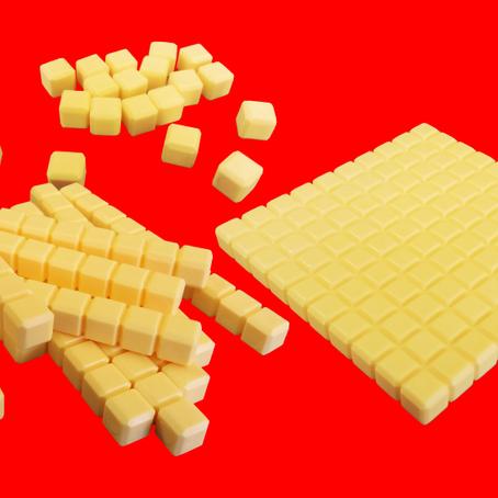 Material Dourado em Plástico