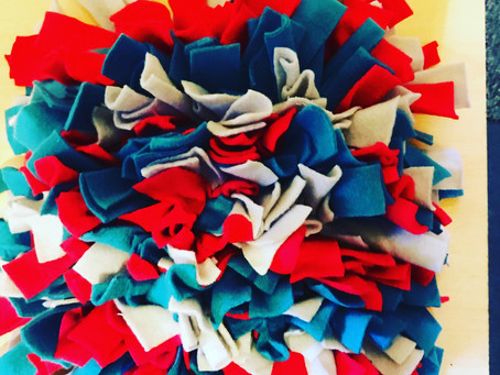 The benefit of a Snuffle mat