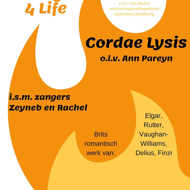Strings 4 Life met The Voice kandidaten Rachel en Zeyneb