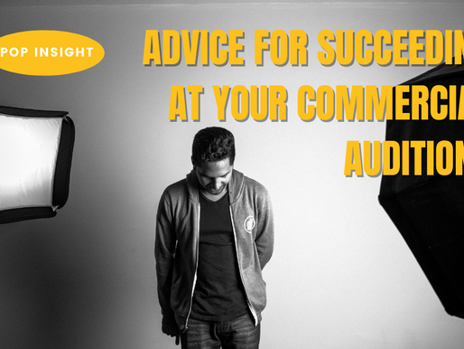 iPOP Insight: Advice for Succeeding at Your Commercial Auditions