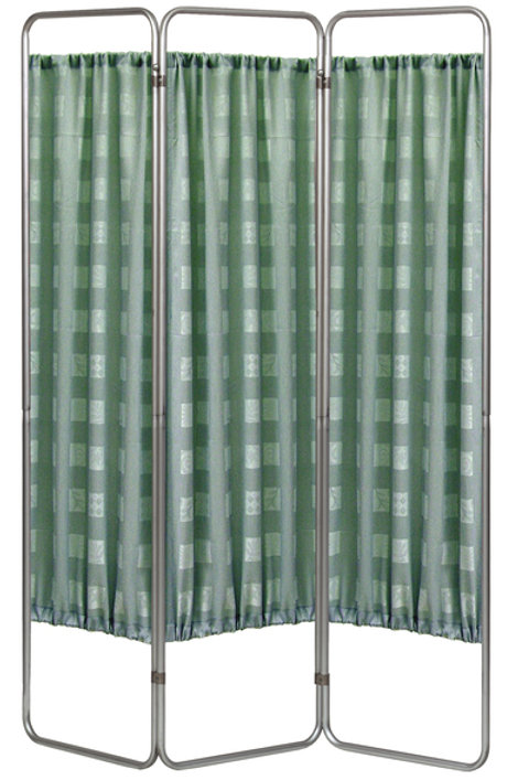 Economy 3 Section Folding Privacy Screen