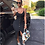 Thumbnail: Stylish strapped button down dress