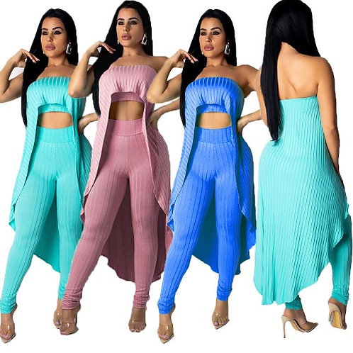 Women Sexy Off Shoulder Two Piece Set