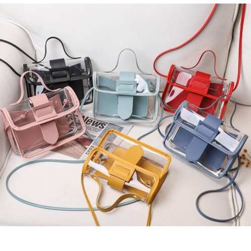 2020 New Cute Transparent Jelly Small Square Bag