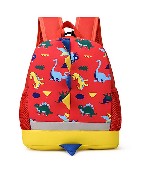 Little Kid Dinosaur Print Backpack
