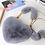 Thumbnail: Solid Color Plush Heart-Shaped Bag