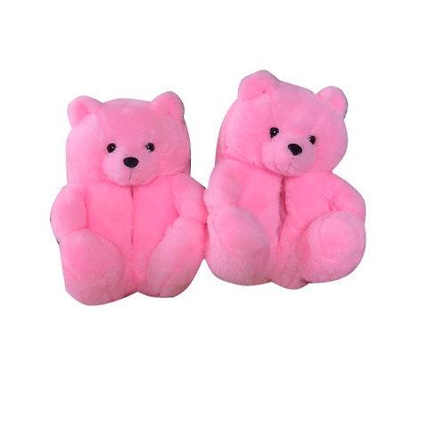 Winter Warm Teddy Bear Slippers