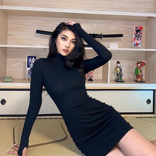 2020 New Style Long-sleeved Bottom Skirt Soli