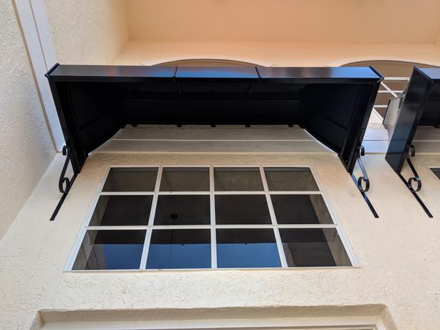 Metal Awnings for windows