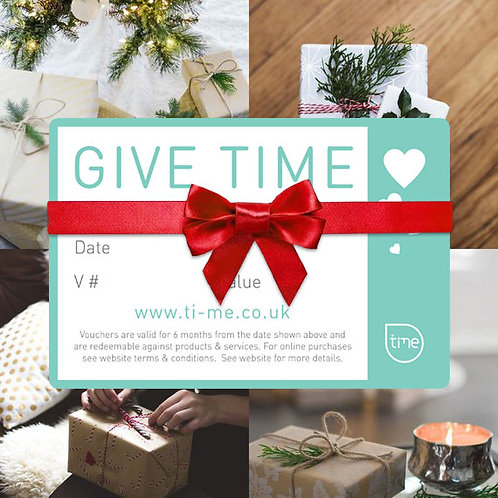 Time™ Gift Vouchers