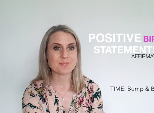 How to Use Positive birth Statements