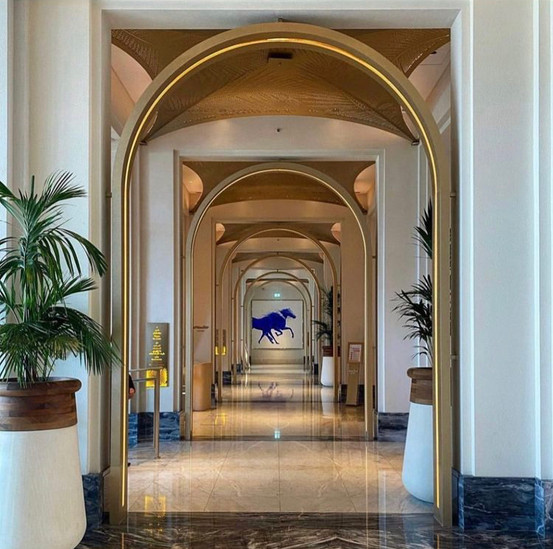 Jumeirah al Naseem Hotel Lobby