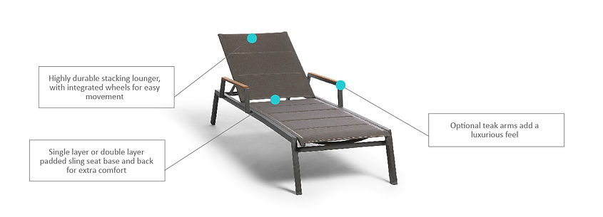 Feature product_Selecta Lounger with Arm